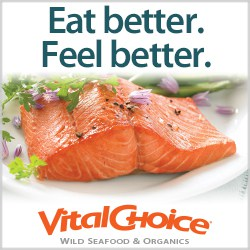 Wild sustainable clean seafood from Vital Choice